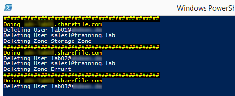 ShareFile Reset Script